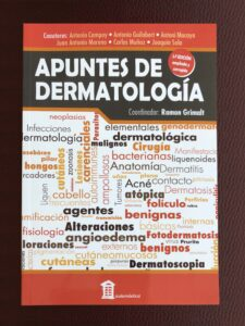 APUNTES DE DERMATOLOGIA (segunda edición)